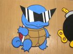 Foam Squirtle by TouchFuzzyGetDizzy