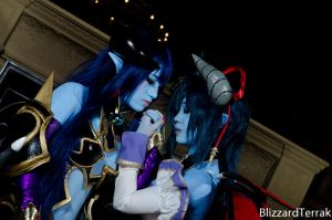 F14 - Twin Succubi by BlizzardTerrak