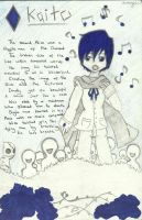 VOCALIOD: Alice Human Sacrifice - Kaito by ChibiVooDooDoll