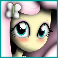 Fluttershy Icon by FacelessSoles