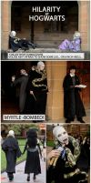 HILARITY AT HOGWARTS 01 by queencattabby