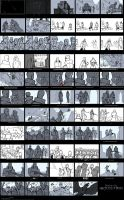 DA:I - Storyboard for the Coronation by MattRhodesArt