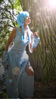 Into the light (Shiny Mew Cosplay) by Cita-la-Star