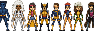 X-Men of the 90's by haydnc95
