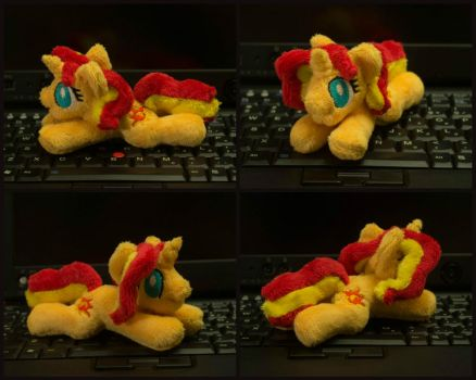 Tiny plushie Sunset Shimmer 5 inch by Valmiiki
