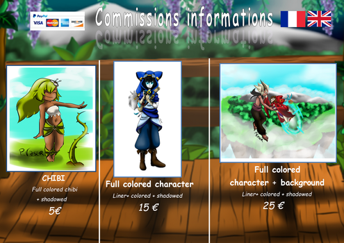Commissions infos by Celeste-Grifsombre