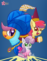The Show Must Go On by CloudDG