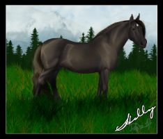 Holly, A Draft Mare by BrownieBottomSundae