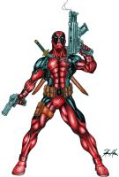 Deadpool: The Perfect Soldier by Bihumi