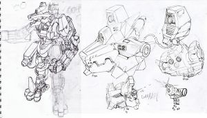Loone-Wolf Mech Concept prev by Loone-Wolf