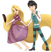 Once-lerxRapunzel?? by Serenime
