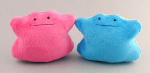 Ditto Plushies by Patchwork-Shark