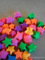 origami stars by jemcouture