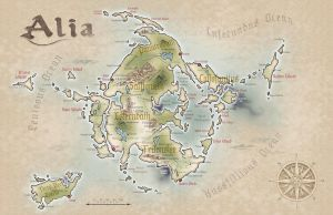 The Realm of Alia by BCcreativity