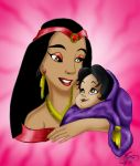 Jasmine and her Mother by ValerieGallery