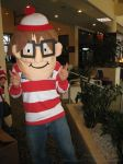 Here's Waldo . . . The Mascot by laeriana