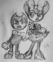 BATIM-I'm a better demon then you! by Velatina-young