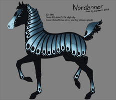 5433 - Nordanner Foal Design by Ikiuni