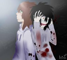 Jeff the killer by azina3