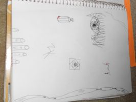 Epic Eye... and some doodles by MichiyoAndii