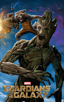 Guardians of the Galaxy Rocket and Groot by billycsk
