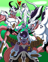 Tyrranux Universe Frieza Color by Ultimatetransfan