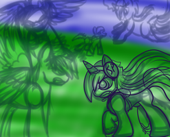 Shattered Pony Fight WIP by TheRebelPhoenix