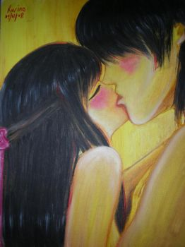 first kiss by rovino