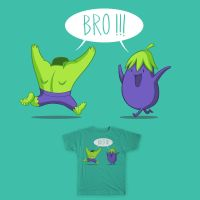 Bro!!! ( Threadless Entry ) by bramLeech