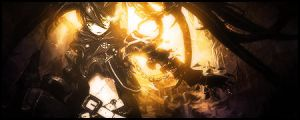 Black Rock Shooter Sig by Rykouy