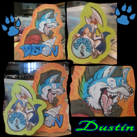 Badges for BlueIceHusky by LoboSong