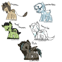 MLP Adopts! by babyfawns