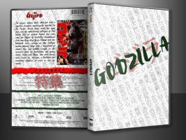Godzilla Custom DVD Cover In Case -V2- by SUPERMAN3D