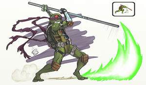 Don Tournament Fighters Groundclaw by BrotherToastyCakes