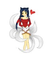 Ahri- League of Legends by Hamzilla15