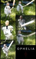 Ophelia cosplay collage 1 by GenerallyInsane