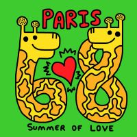 Paris 68 Shirt by popartmonkey