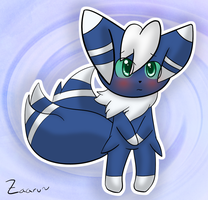 Meowstic by Tooncito