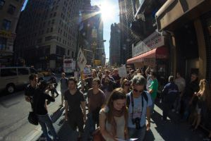 OWS March to Washington Sq. P by TimberClipse