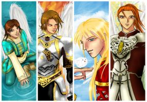 Archangels by midknightBLU