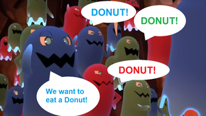 We Want Donut by Ilovesonicandfriend