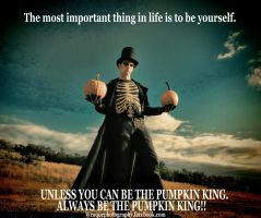 be the pumpkin king by wroquephotography