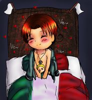 How Italy deals sleeping alone by Dei-chan-luv