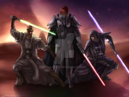 A Force Sensitive Trio by Evanyell