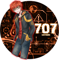 Mystic Messenger: Saeyoung/707/Luciel by PrincePhantom