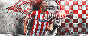 David Villa | Atletico Madrid by ardianARTs
