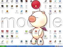 Current Desktop as of 07' by Queen-Of-Anime