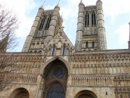Lincoln Cathedral Spire By Highshamanlythene On Deviantart