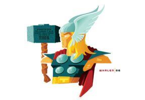 thor minbust by strongstuff