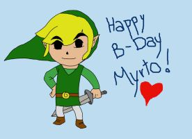 Happy B-Day, Myrto!!! by Jeako